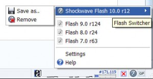 Flash Switcher